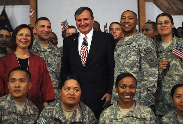 Karl Eikenberry, a retired general, was sent as US ambassador to Kabul by President Obama in January and has become an increasingly active figure