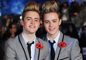 John and Edward Grimes were spared a repeat of last week's results show when they were in the bottom two and controversially saved by judge — and Jedward nemesis — Simon Cowell.
