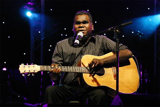 Geoffrey Gurrumul Yunupingu.