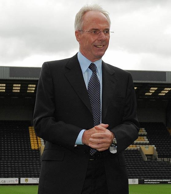 <b>Sven Goran Eriksson</b><br/> Despite the fact Sven is almost never out of work, he seems to get linked with a different post every week. When he was at England he was linked with Chelsea, when in Mexico he was rumoured to be joining Portsmouth and sinc
