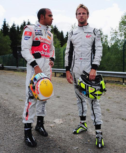 Hamilton and Button would form a British 'dream team' at McLaren