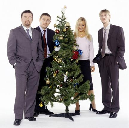 The traditional end-of-year festivities, such as those enjoyed in the television comedy series The Office, are likely to be much leaner this winter