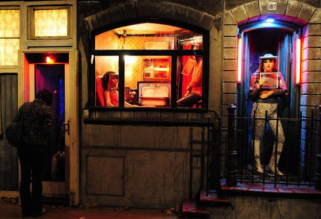 Love for sale: Ed and Nancy Kienholz's installation reminds us that the Dutch are a mercantile people