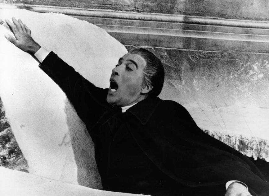 <b>Dracula: Prince of Darkness, 1966</b> Christopher Lee is probably the most famous representative of Dracula - he is also one of the earliest good looking vampires. With carefully quaffed hair and delicately white fangs, he is always well turned out eve