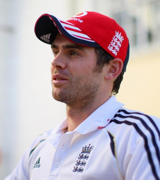 Anderson will lead the England attack