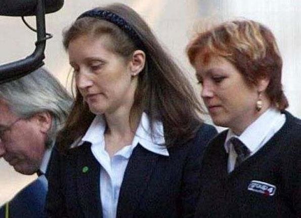 Jane Andrews, left, was jailed for life in 2001 after murdering her boyfriend