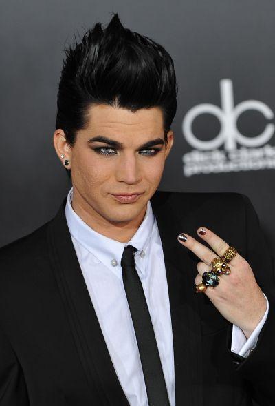 Singer Adam Lambert at the 2009 American Music Awards