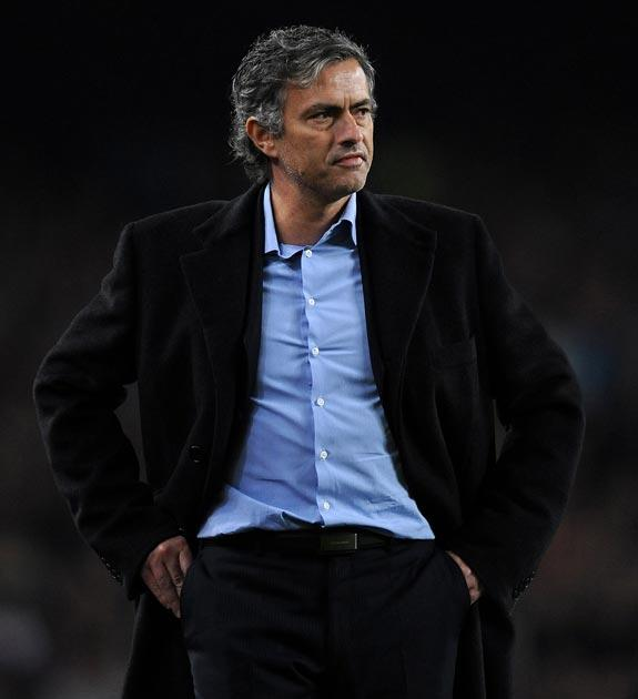Mourinho saw his side lose 2-0 to Barcelona