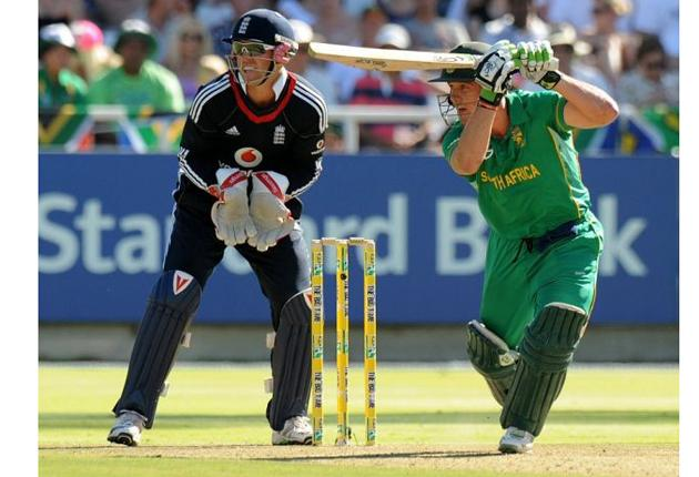 AB De Villiers' impressive running between the wickets was a key factor in his 121 which came off 85 balls