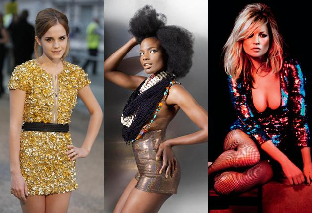 Storm's roster includes actor Emma Watson and singer Shingai Shoniwa (centre) as well as catwalk star Kate Moss