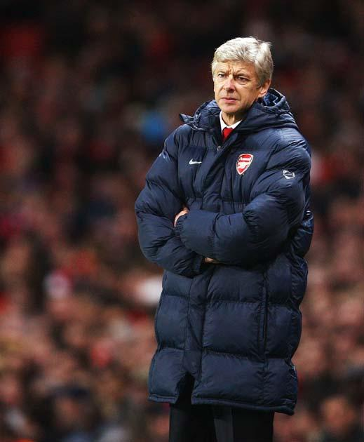 Wenger's side currently trail Chelsea by 11 points