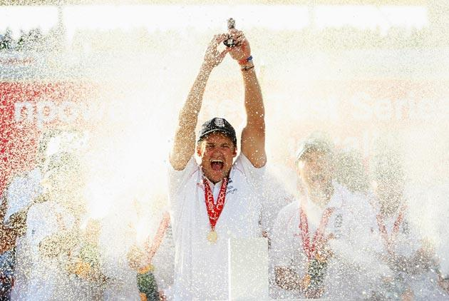 <b>Andrew Strauss</b><br/> <b><i>Age:</i></b> 32. <b><i>Odds:</i></b> 16/1<br/> Ashes winning captain and leading run-scorer in the series with an average of 52.66.