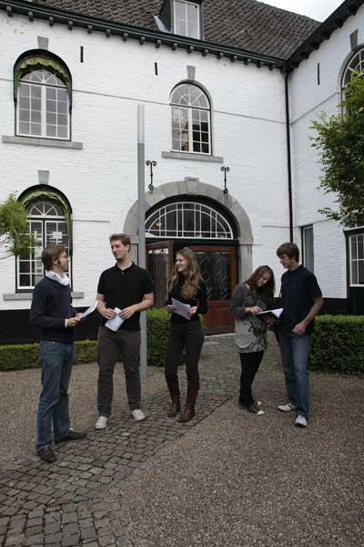 Go Dutch: students at Maastricht University in the Netherlands