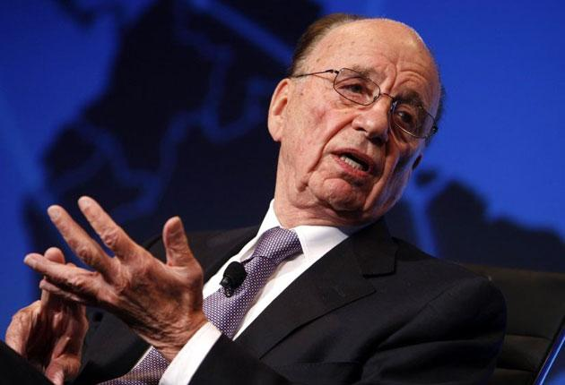 Rupert Murdoch objected to the aggregate news site run by Google, founded by Larry Page and Sergey Bri