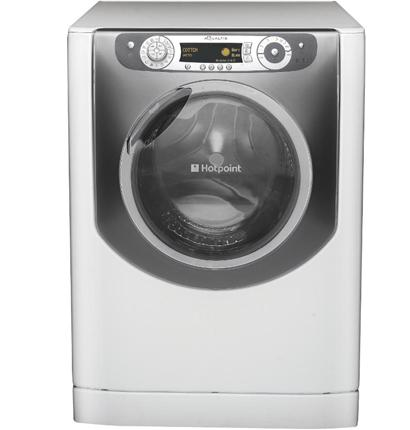 Hotpoint AQGMD 149. Govt: Failed on energy and water. Manufacturer: Challenged results but did not offer own test results