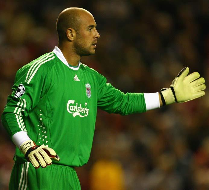 Reina has signalled his commitment to Liverpool