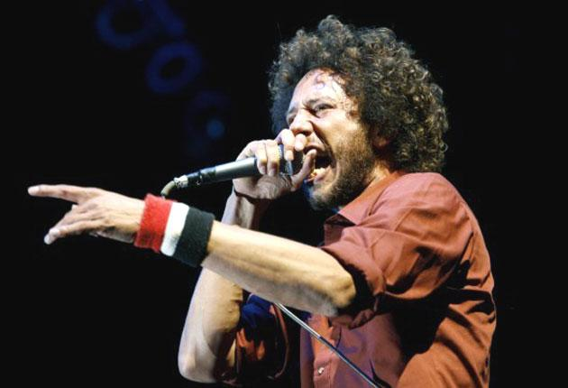 lead singer rage against the machine
