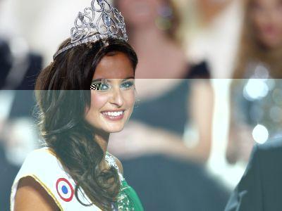 Miss Normandy Malika Menard , Miss France 2010