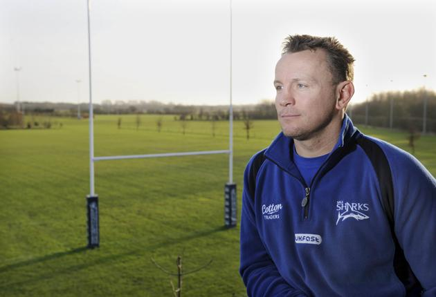 'It's been a hard few months,' says the Sale coach, Kingsley Jones