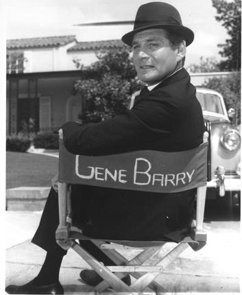 Barry in a 1963 publicity shot for 'Burke's Law'. 'We're doing something that's always been done in the cinema,' the show's producer Aaron Spelling said, 'shooting for glamour and not worrying about being too believable'
