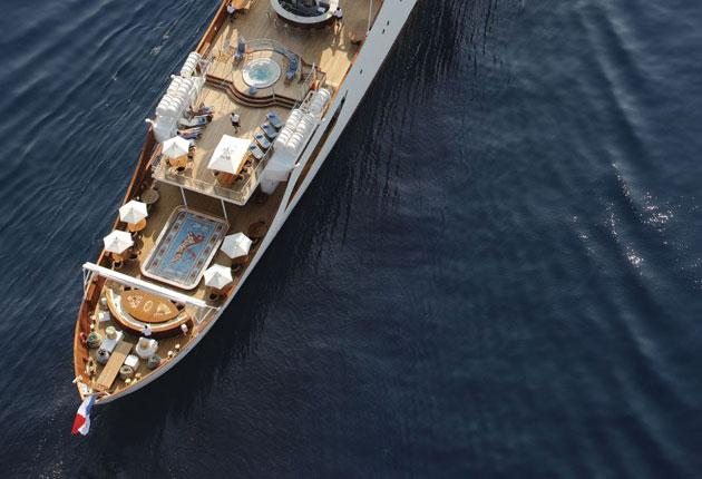 The love boat: super yacht where Aristotle Onassis and Maria Calas played out their scandalous affair