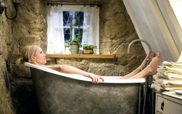 Boiler insurance is a good idea if you want to be sure of a nice warm soak, a la Cameron Diaz