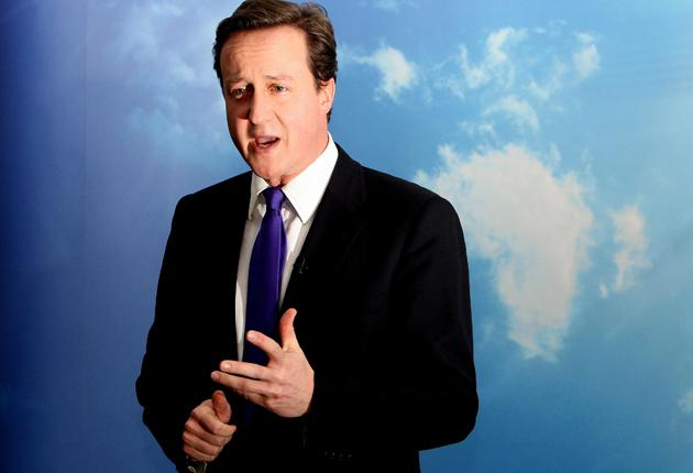 David Cameron is increasing his lead over Gordon Brown