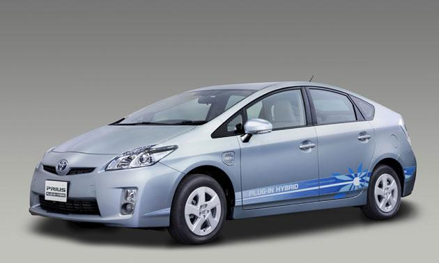Toyota's new plugin version of its Prius hybrid