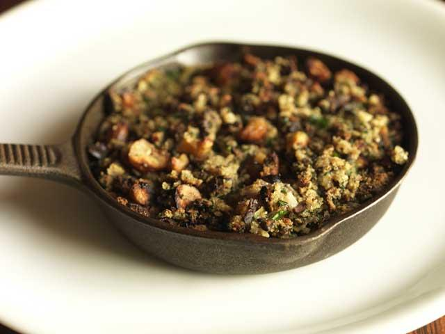 Chestnut stuffing works well with turkey, goose, pork or game