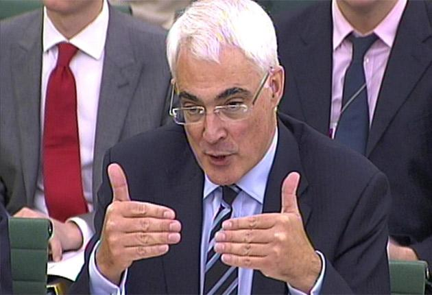 The survey of 257 business leaders found confidence in Alistair Darling has fallen from 25 per cent to 20 per cent since the pre-Budget report last week