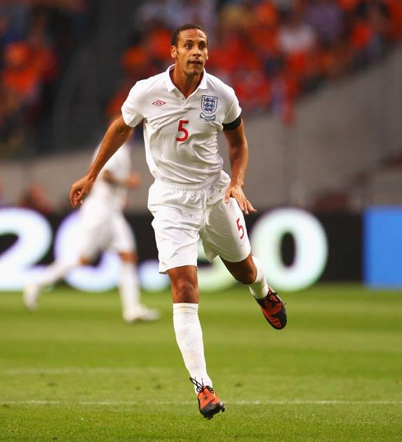 Ferdinand has been suffering badly from injuries this season