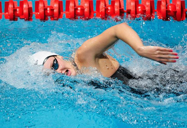 Fran Halsall excelled in the Duel in the Pool, winning three events