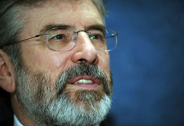 """Gerry Adams: """"I have felt for some long time we should go public about my father as part of the healing process within my own family and to try to help other families in the same predicament"""""""