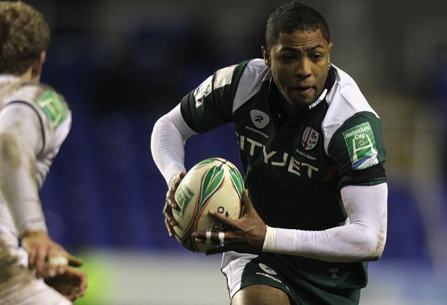 London Irish welcome back full-back Delon Armitage for tomorrow's top-of-the-table game with Premiership leaders Saracens at the Madejski Stadium