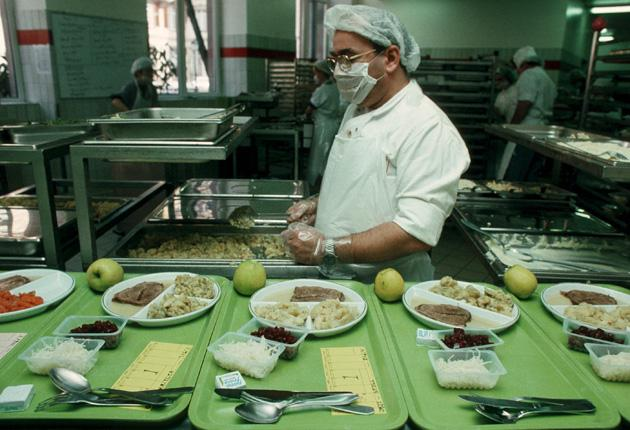 Chefs from Albert Roux to Heston Blumenthal and Loyd Grossman have tried to raise food standards in hospitals, but with little success