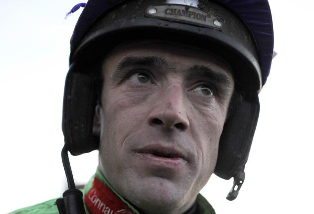 Ruby Walsh will miss out on the mount on Cooldine at Leopardstown this afternoon