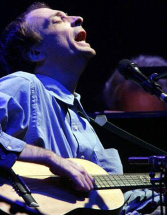 Plaintive and haunting: Vic Chesnutt on stage in Essen, Germany in 2005