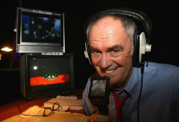 The irrepressible Sid Waddell has turned darts commentary into an art form