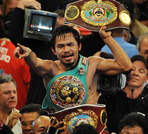 The rise of Manny Pacquiao proved boxing's enduring appeal
