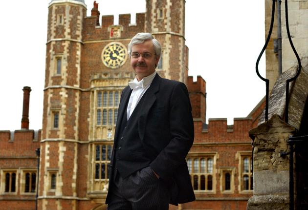 Tony Little, the headmaster of Eton College, says the school works hard to accommodate boys from a variety of backgrounds