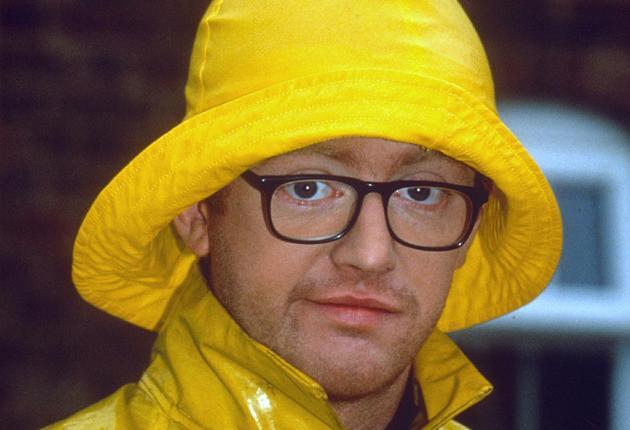 Chris Evans on the Big Breakfast in 1992