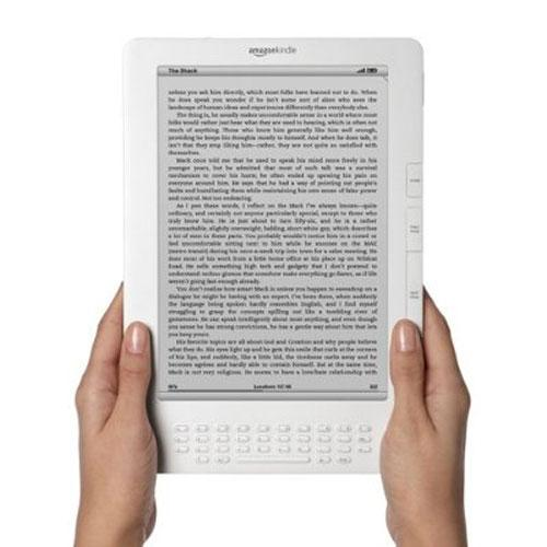 The Kindle DX, now available worldwide