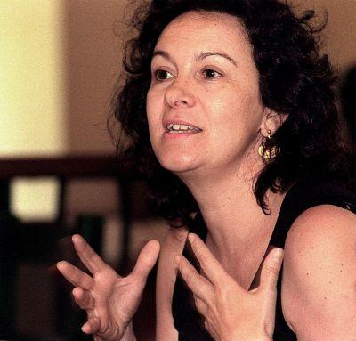 Spanish writer Clara Sanchez