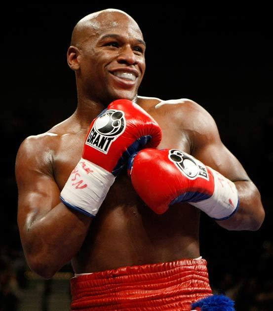 Mayweather asked his opponent to provide blood tests in the run up to the fight - which was refused