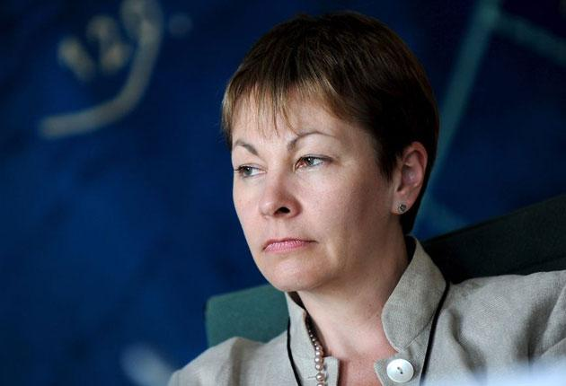 Britain's foremost Green politician, MEP Caroline Lucas, has broadened and radicalised the party's base