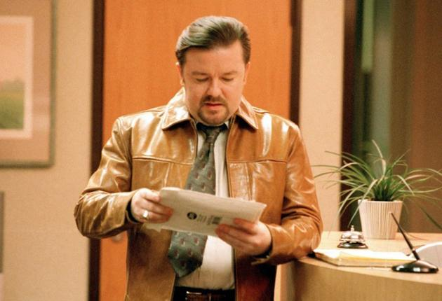 Ricky Gervais as David Brent in the original BBC series