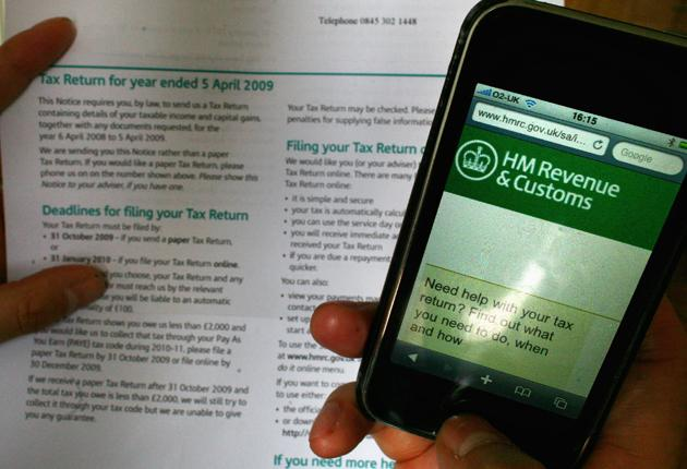 If you're not sure about something on your tax return, try calling HMRC