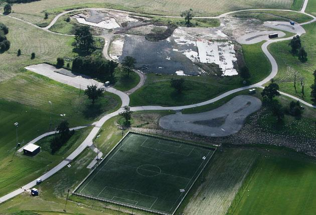 The National Football Centre at Burton remains a stick with which critics beat the Football Association