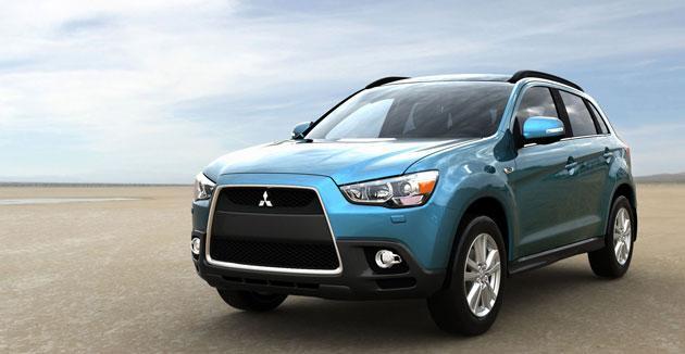 Mitsubishi's new ASX crossover