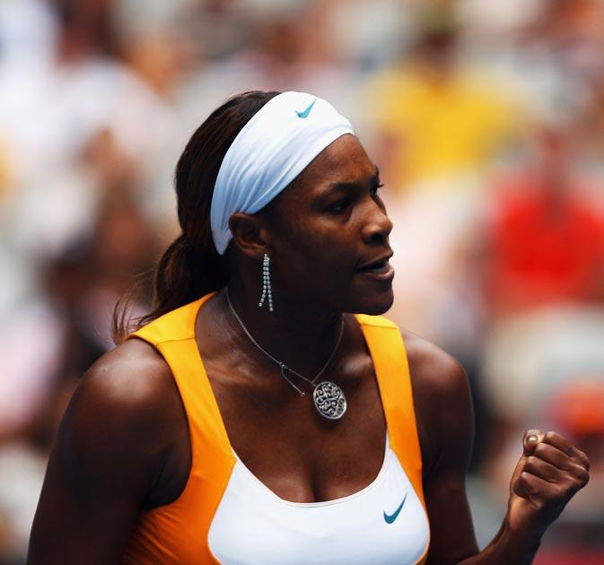 Serena joins her sister Venus in the next round